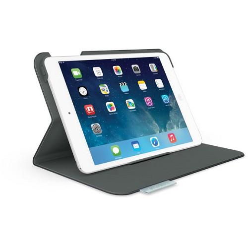 LOGITECH Folio Protective Case for Apple iPad Mini [939-000893] - Carbon Black - Casing Tablet / Case